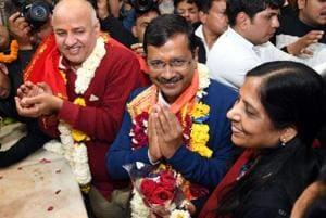 Five factors behind Arvind Kejriwal-led AAP's sweep 2-0 in Delhi assembly election