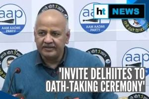 Sisodia hails 'politics of work'; Kejriwal to take oath as CM on Feb 16