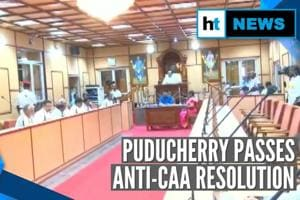 Puducherry becomes 1st Union Territory to pass resolution against CAA