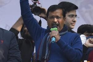 'This is a win for bharat mata', says Kejriwal after AAP sweeps Delhi