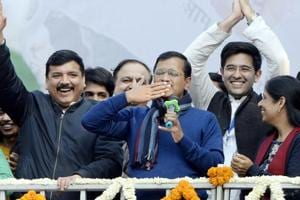 Arvind Kejriwal's party wins more seats in close contests than it did in 2015
