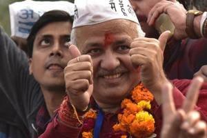 Manish Sisodia pulls off thriller, wins by a thin margin