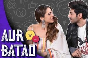 Sara Ali Khan on chemistry with Kartik Aaryan, her competition | Love Aaj...