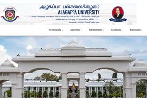 Alagappa University UGResult 2019 declared, direct link here