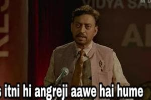 Fans to Irrfan Khan after Angrezi Medium trailer: 'Inside I am very emotional, outside I am very happy'- Here are the best memes