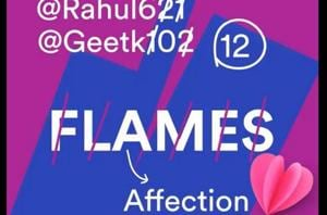 Spotify is playing FLAMESto tell you how it will go with your crush