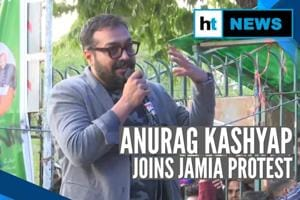 'Its a fight of patience': Anurag Kashyap joins anti-CAA protest at Jam...