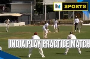 India vs New Zealand: Men in Blue play practice match ahead of Test ser...