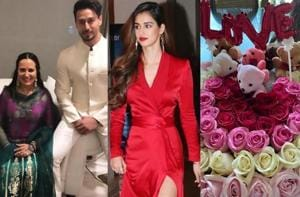 Valentine's Day 2020: Disha Patani sends flowers to Tiger Shroff's mom, Twitter reacts with 'saas-bahu' comments