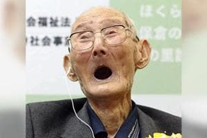 112-year-old crowned as world's oldest man, shares secret to long life- Can you guess what?