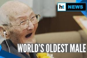 Watch: 112-year-old Japanese man receives Guinness World Records for oldest...
