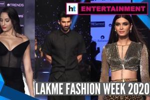 Lakme Fashion Week 2020: Dia Mirza, Tabu, Aditya Roy Kapur sizzle ramp
