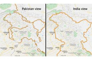 Google Maps marks Kashmir borders as 'disputed' for users outside India