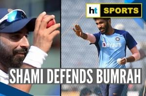 'How can you forget..': Mohammed Shami slams Jasprit Bumrah's critics