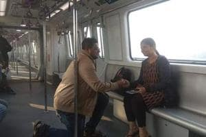 Man proposes to partner on Valentine's Day inside newly inaugurated Kolkata metro