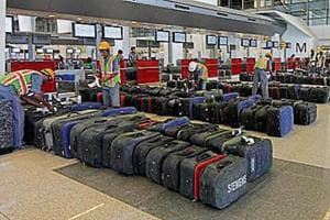 You can get your luggage picked from home and transported to airport, but at a price