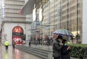 Apple to reopen a store in Shanghai today with reduced working hours