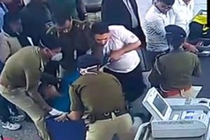 CISF officer gives CPR to 53-yr-old man who collapsed at Kolkata airport, saves his life