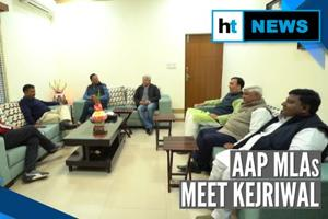 Watch: Kejriwal discusses roadmap with AAP MLAs ahead of swearing-in