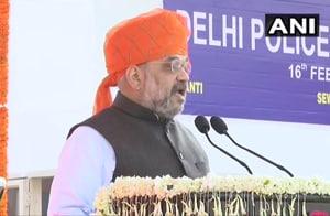 On Delhi Police Raising Day, Amit Shah says cops deserve respect