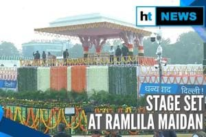 Arvind Kejriwal to take oath as Delhi CM at Ramlila Maidan