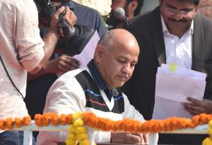 From Education minister to Kejriwal's deputy, Manish Sisodia dons multiple hats