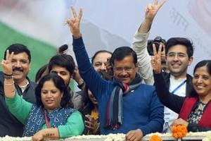 'Come bless your son': Arvind Kejriwal invites Delhi to his oath-taking again
