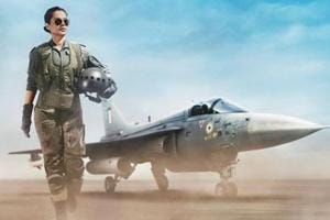Tejas first look: Kangana Ranaut transforms into IAF pilot, Twitter salutes her look- See pic