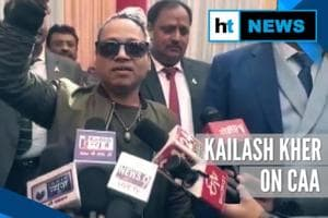 '100 percent in favour of CAA': Kailash Kher