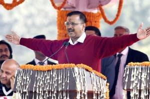 'Everyone's CM': Arvind Kejriwal sworn-in as Delhi CM for the third time