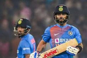ICC T20I Rankings: KLRahul closes in on Babar Azam at the top, Virat Kohli drops to 10