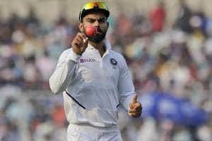 Virat Kohli 11 runs away from surpassing Sourav Ganguly in elite Test list