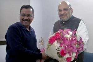 In first meeting after poll sweep, Kejriwal discusses Delhi's development with Shah