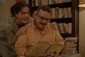 Taapsee Pannu shares adorable pic with onscreen father: 'Being daddy's girl is what made things easy and difficult for Amrita'