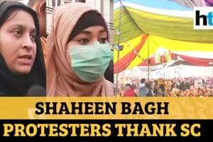 'Thankful to SC': Shaheen Bagh protesters after meeting SC-appointed me...