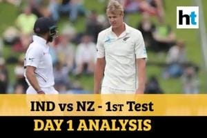 India Vs NZ 1st Test: Virat's men on the backfoot; Jamieson shines on d...