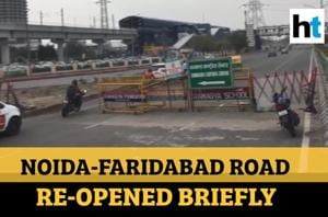 Shaheen Bagh protests: Noida-Faridabad road re-opened briefly after 69 ...