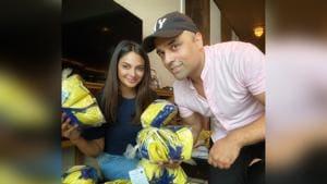 Gurbaksh Chahal and Rubina Bajwa donate thousands of masks to Hong Kong charities amid Coronavirus outbreak