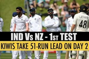 India Vs NZ 1st Test: Kiwis take 51-run lead on Day 2