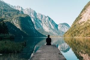 Meditation may be associated with specific brain connection changes- Here's why