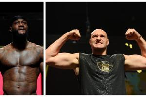 '273 pounds of pure British beef,' Tyson Fury weighs 19 kg heavier than Deontay Wilder for rematch