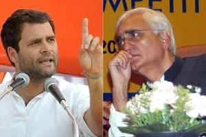 'Rahul Gandhi still a 'top leader' in Congress : Salman Khurshid
