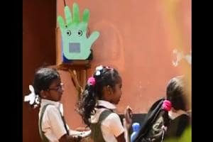 Robot Pepe will be nudging Delhi school kids to wash hands