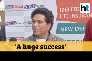 '25% of athletes are women': Sachin Tendulkar flags off New Delhi Marat...
