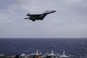MiG 29K aircraft on training sortie crashes near Goa, pilot ejects safely