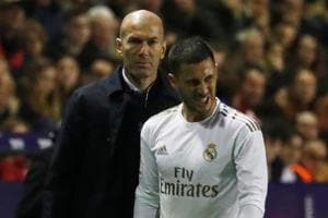 Real Madrid's Eden Hazard suffers right ankle fracture ahead of Manchester City clash
