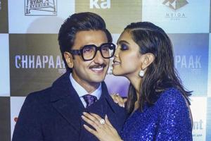 Deepika Padukone on working with Ranveer Singh in 83: 'Had to remind ourselves we'd worked together before'