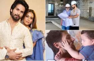 Happy birthday Shahid Kapoor: 10 family pics with Mira Rajput, Misha and Zain that show he's the perfect husband, dad