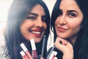 Priyanka Chopra, Katrina Kaif play with makeup at get together, share pics: 'It's always a blast with you'