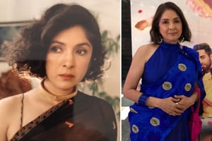 25 saal pehle bhi baal katne ki himmat ki thi: Neena Gupta slays curly bob hair in throwback pic
